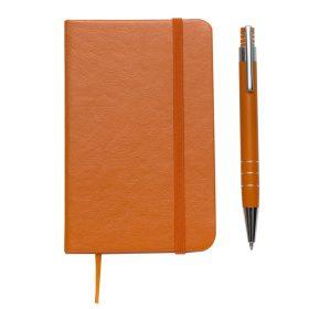 Conjunto Estojo e Caderneta tipo Moleskine